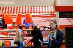 NW at AGORA at the market